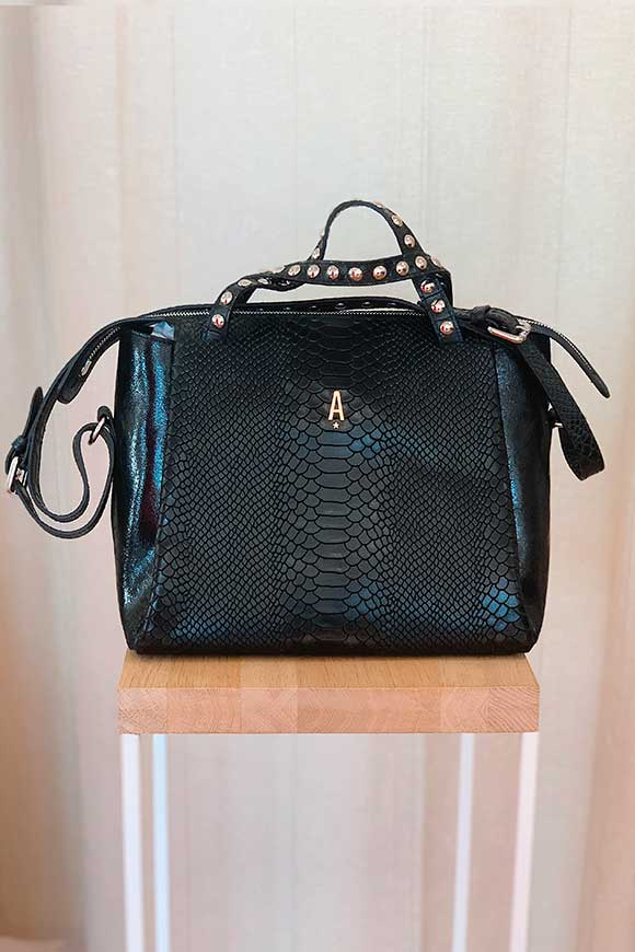 Aniye By - Crocodile black Tata bag