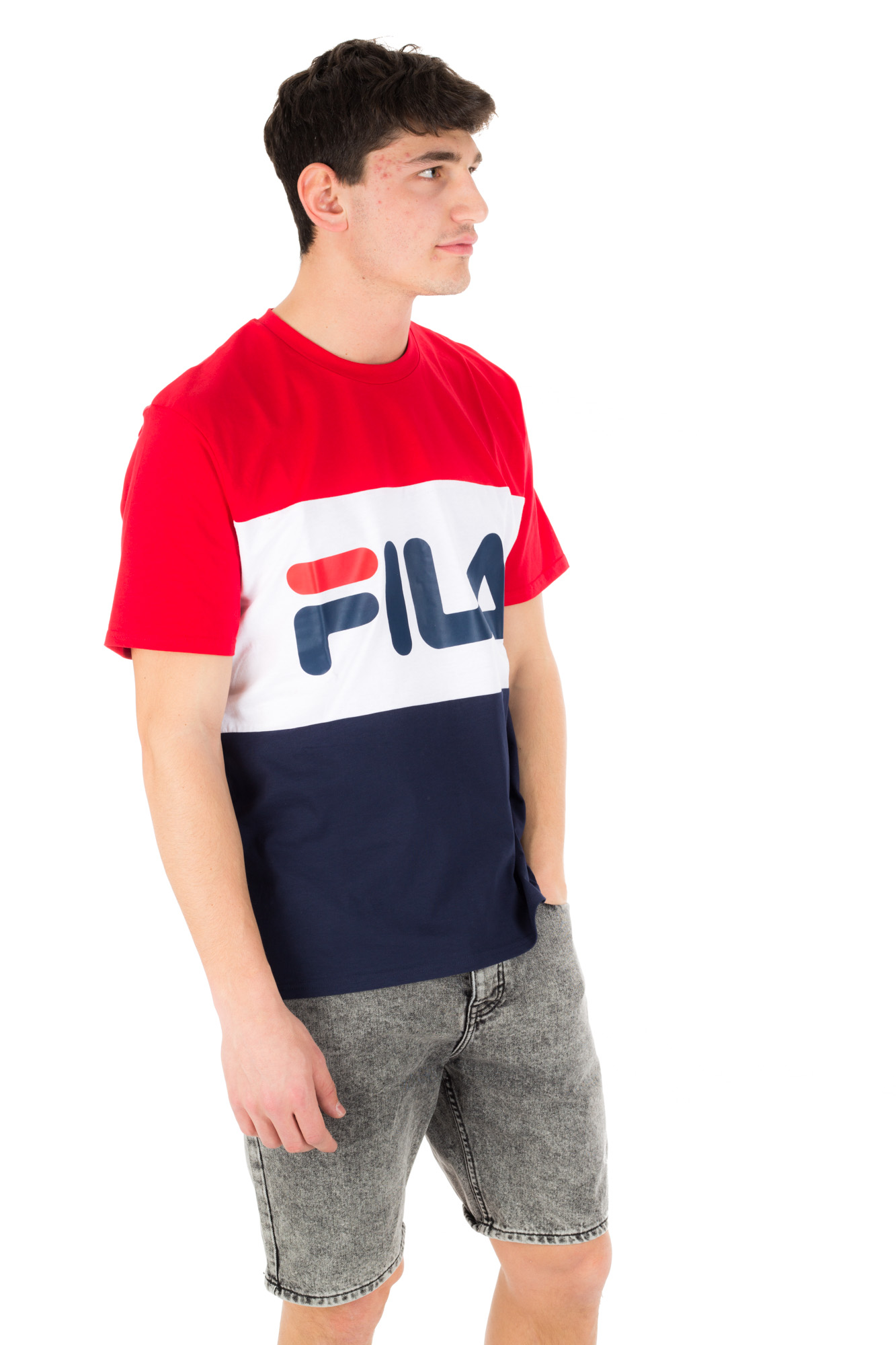 Fila - Unisex t-shirt with three color