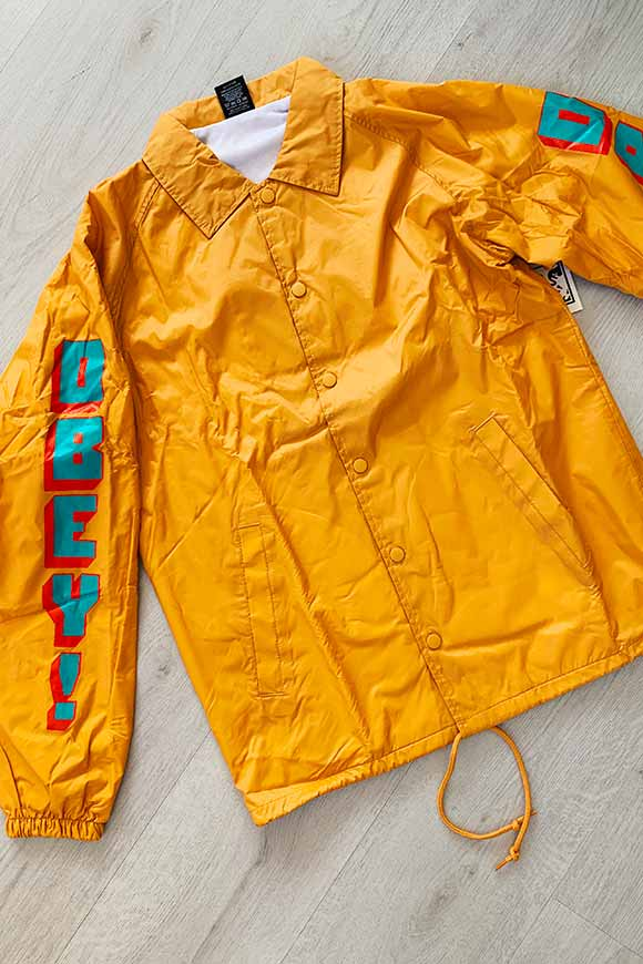 Obey - Waterproof mustard jacket