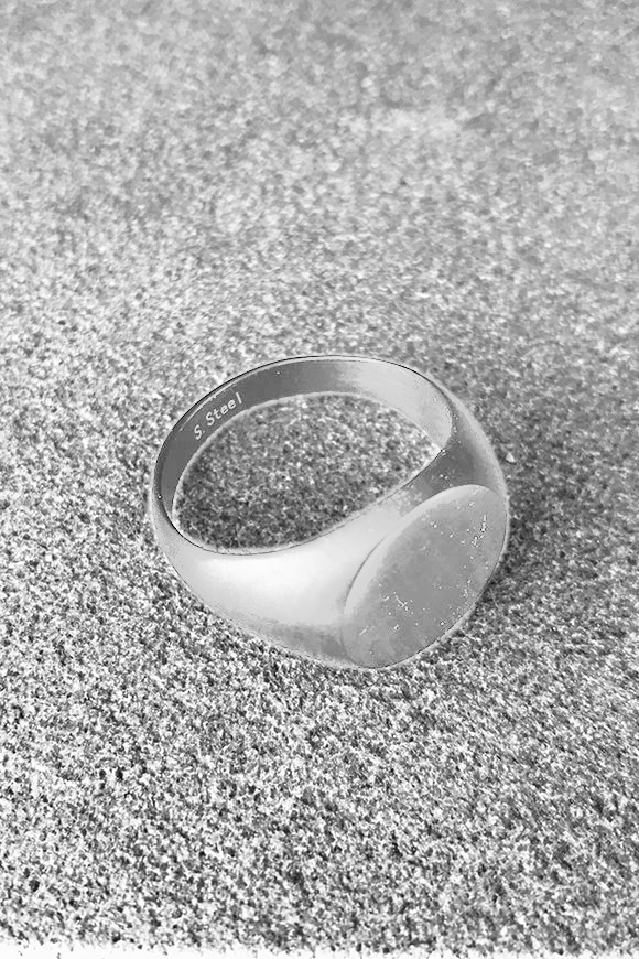 Calibro Shop - Opaque silver round ring