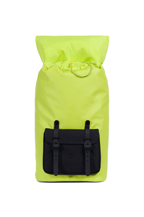Herschel - Little America studio lime fluo backpack