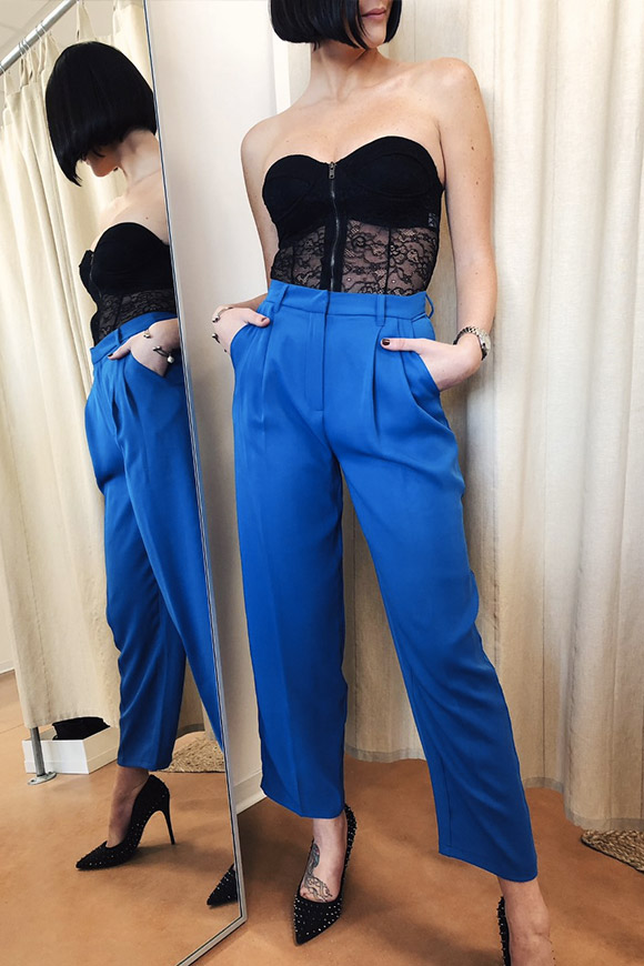 NA-KD - Blue sartorial tailored trousers