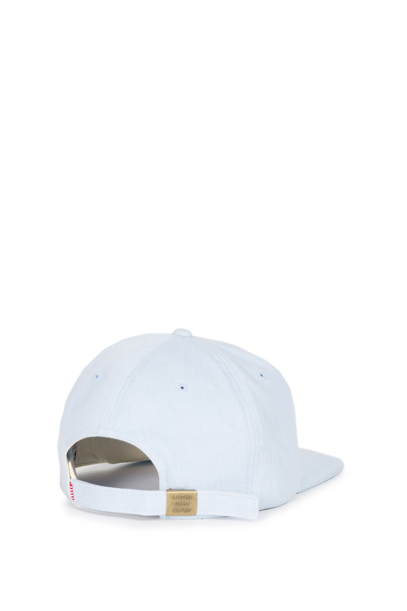 Herschel - Albert cap bleached light denim