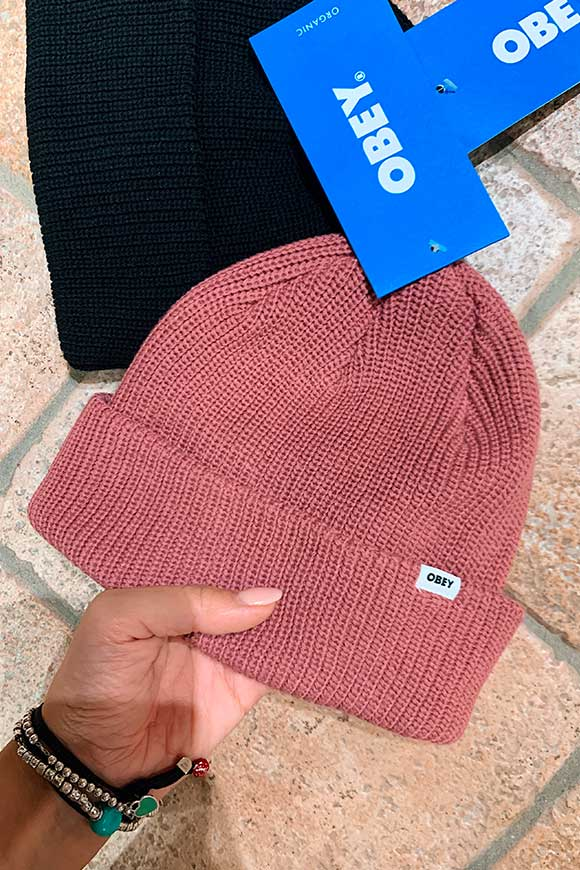 Obey - Bold rosé hat