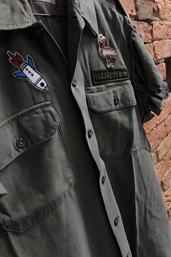 BSB - Military shirt with patches