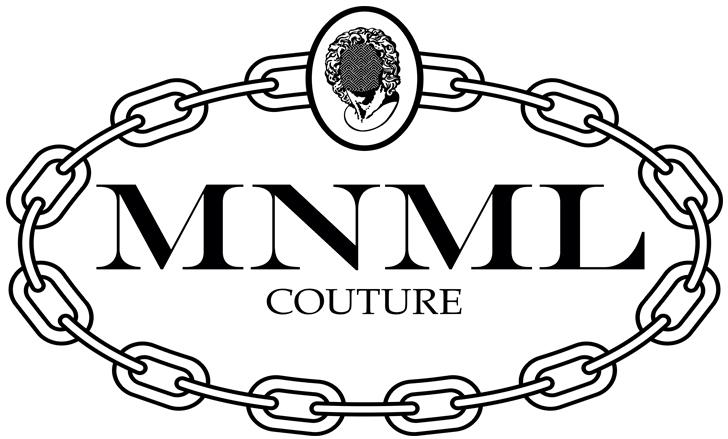 Logo e link alla marca Mnml Couture