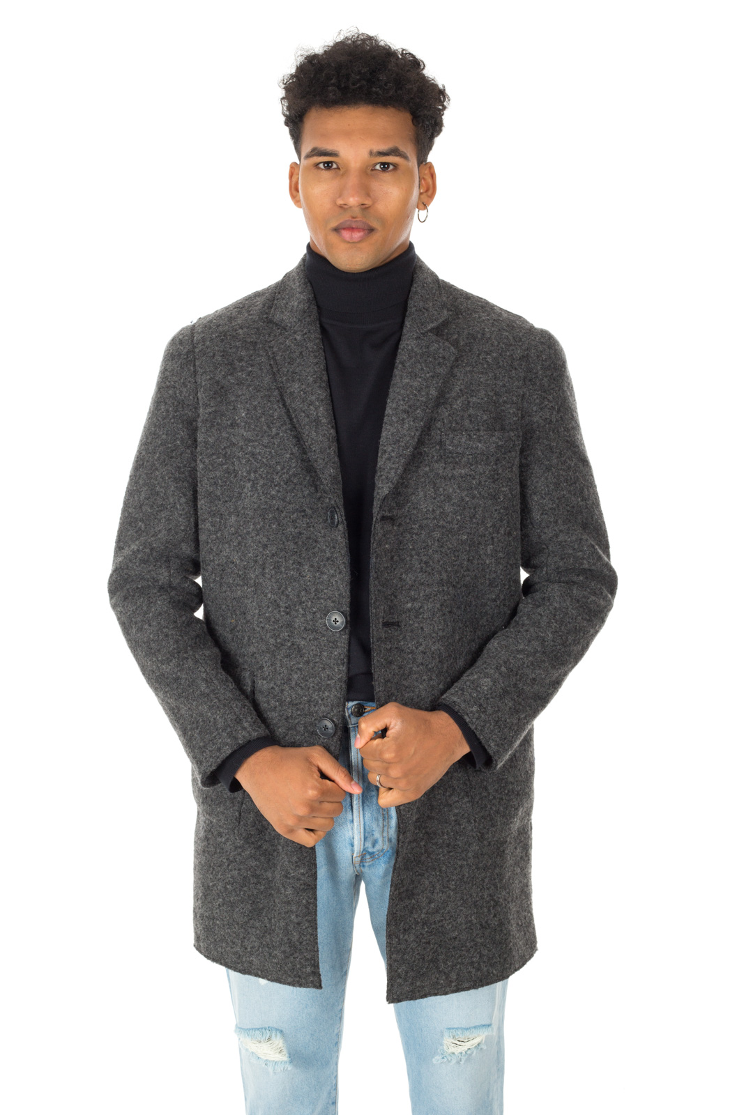 Minimum - Coat Gray Archer padded