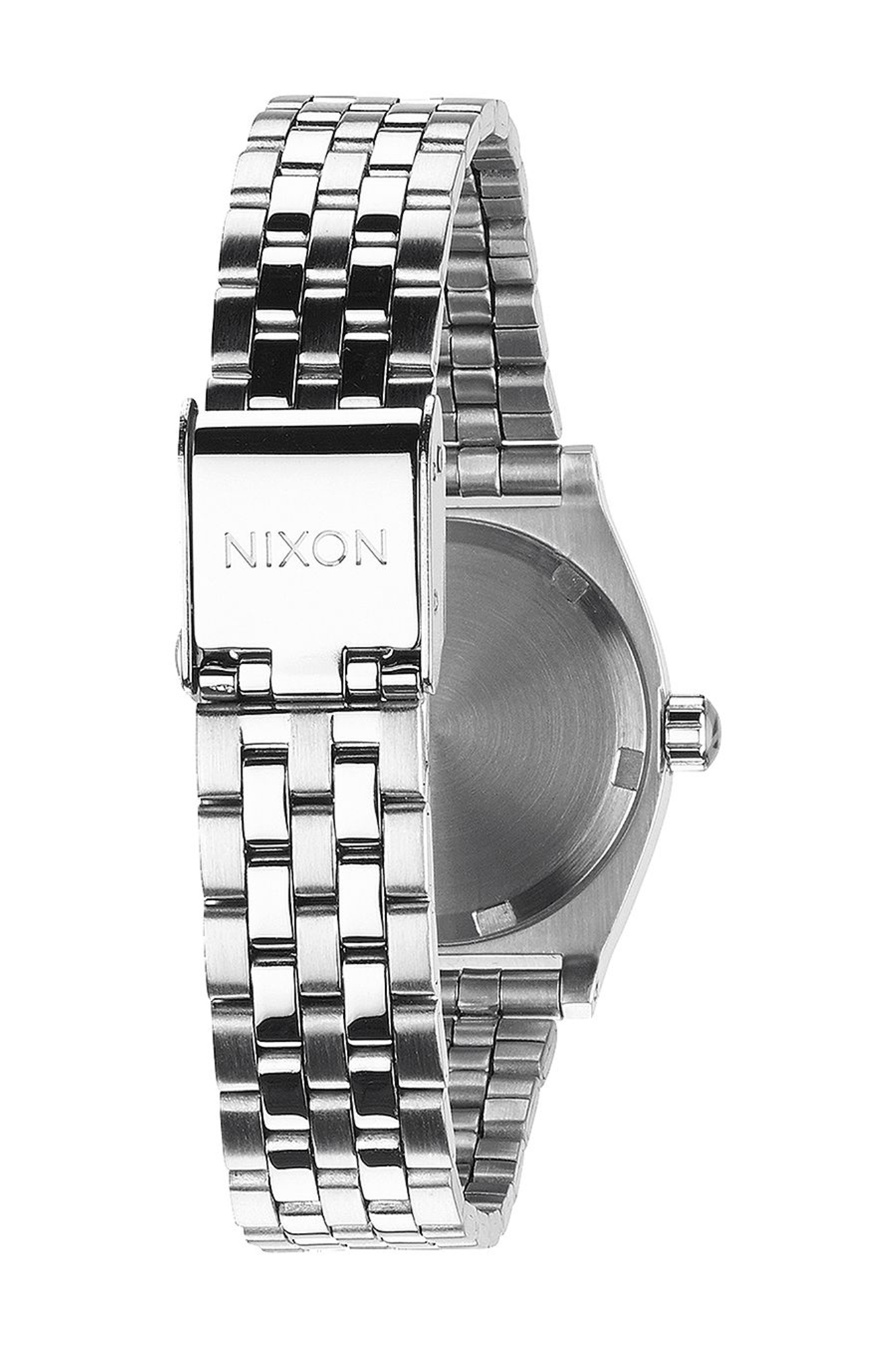 Nixon - Small Time Teller Watch Silver Crystal
