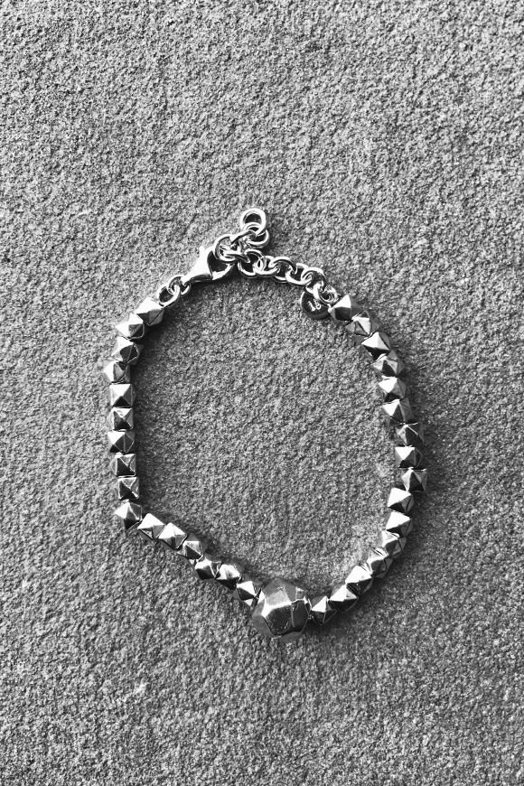Calibro Shop - Silver nugget bracelet