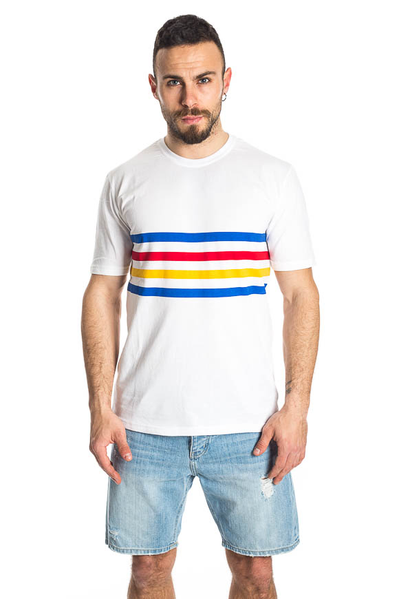 Minimum - Striped Lapis T-shirt