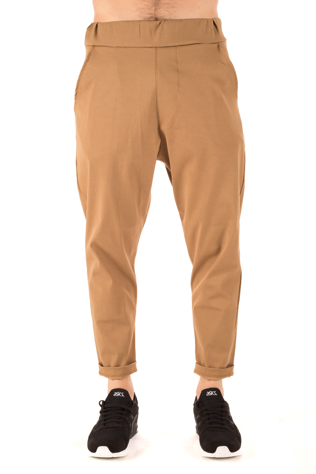 No Perfect - Pantalone baggy con elastico in vita