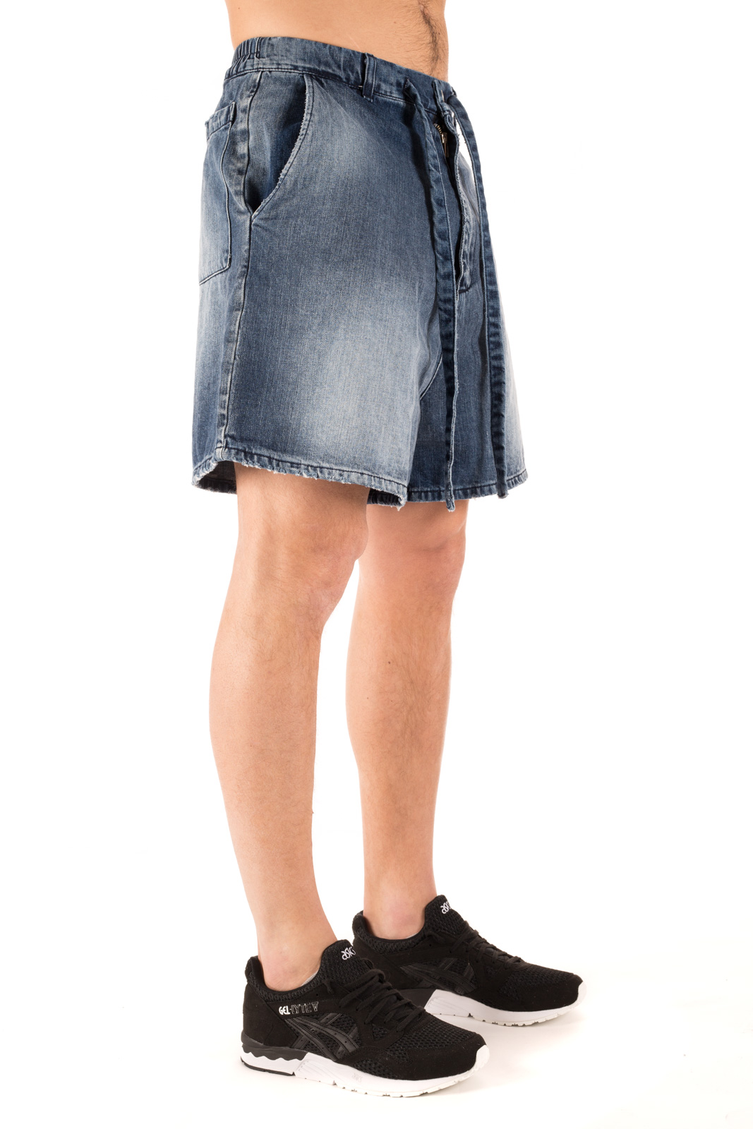 Paura - Ivan shorts oversize denim