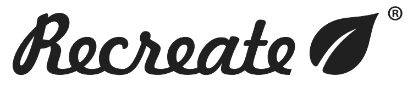 Logo e link alla marca Recreate