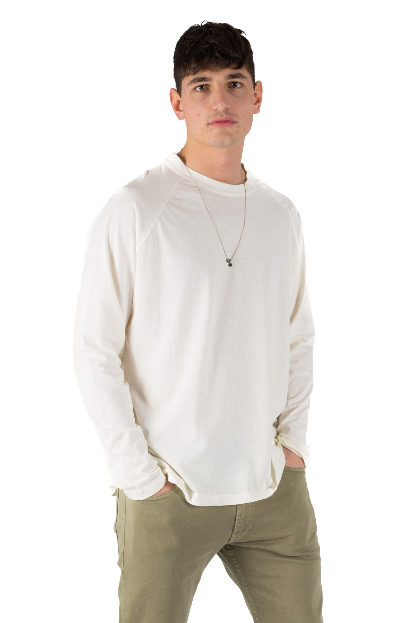 Paura - Comfy Sweater Cream