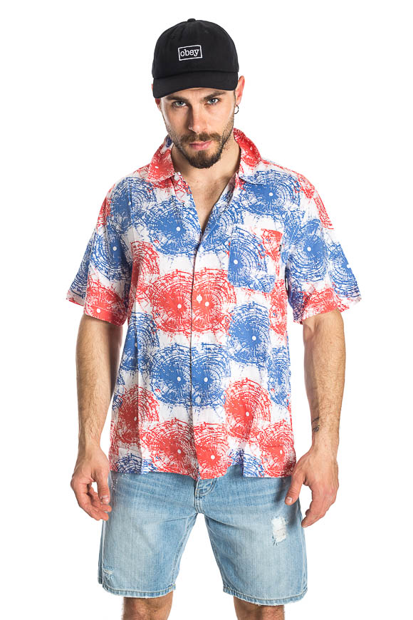Obey - Multicolored Shatterered shirt