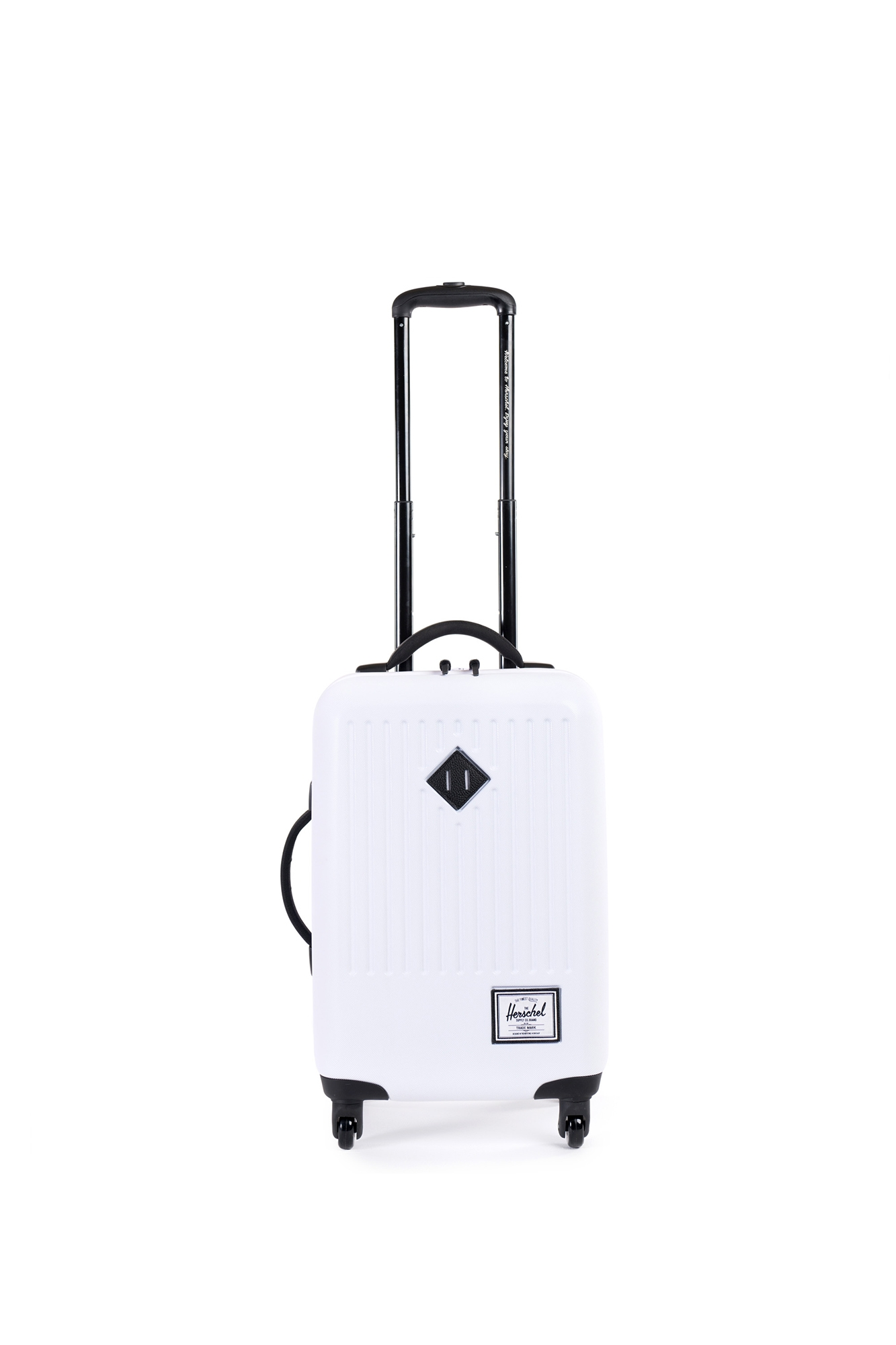 Herschel - Trade Luggage Trolley Carry-on White
