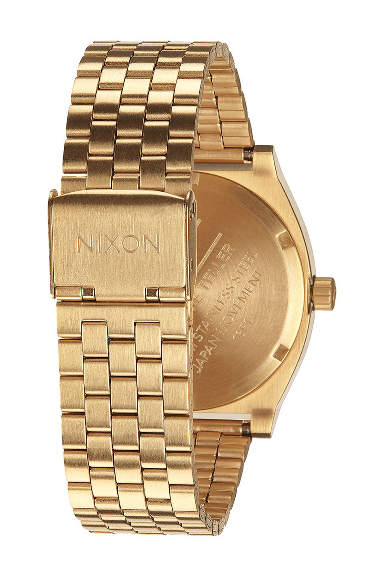 Nixon - Time Teller Black and Gold Watch