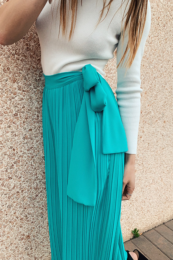 Kontatto - Pleated Ocean Palace Pants