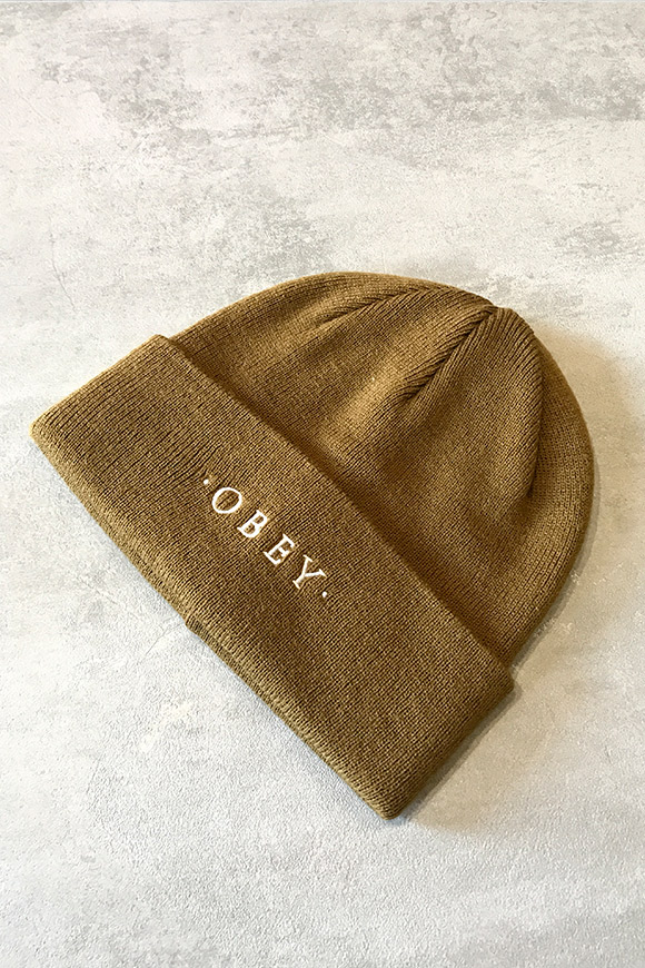 Obey - Black hat with embroidered logo