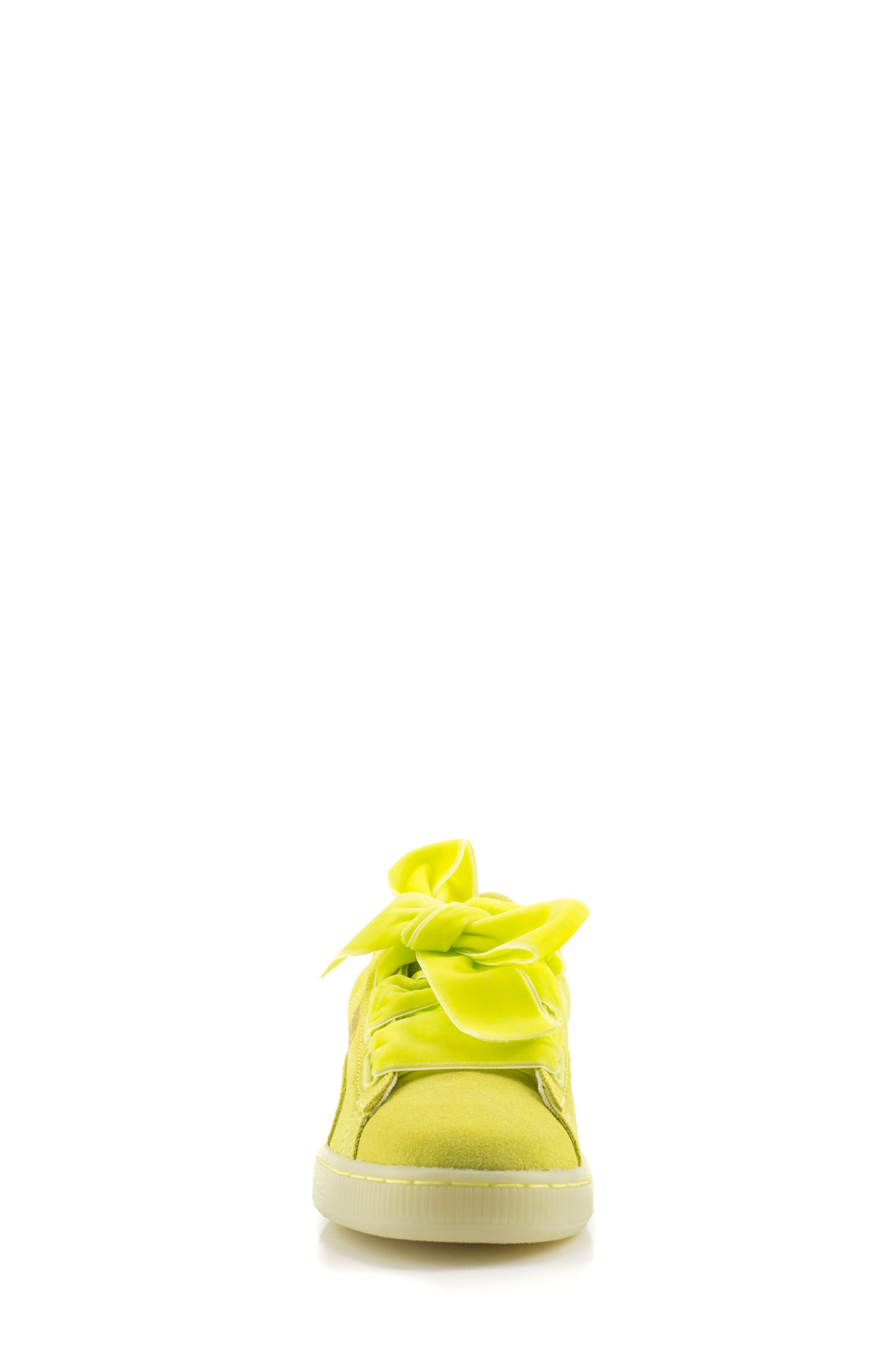 Puma - Suede Heart Reset Yellow Gialle