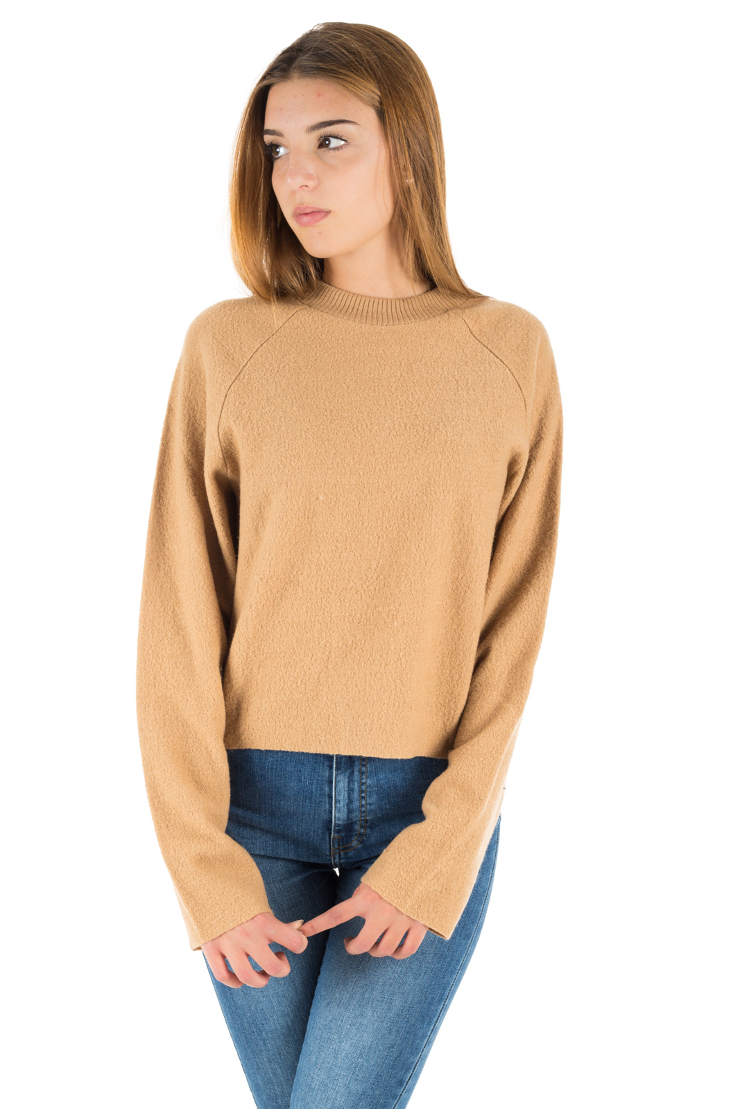 Dr. Denim - Beige Fia Sweater in Wool
