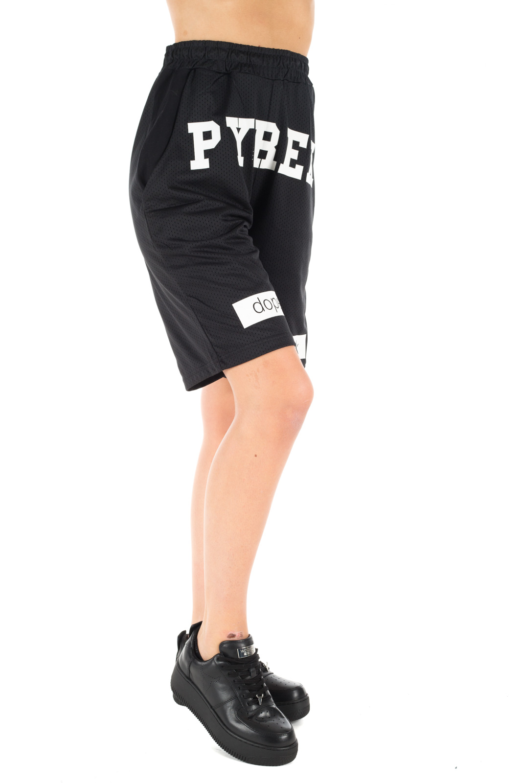 Pyrex Pantaloncini Basket Neri Unisex - Calibro Shop