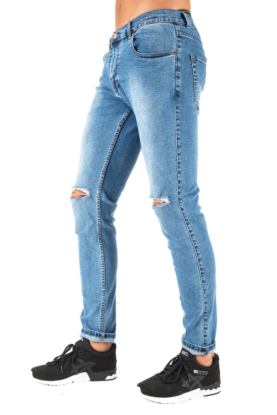 Dr. Denim - Skinny Clark Jeans with Cuts