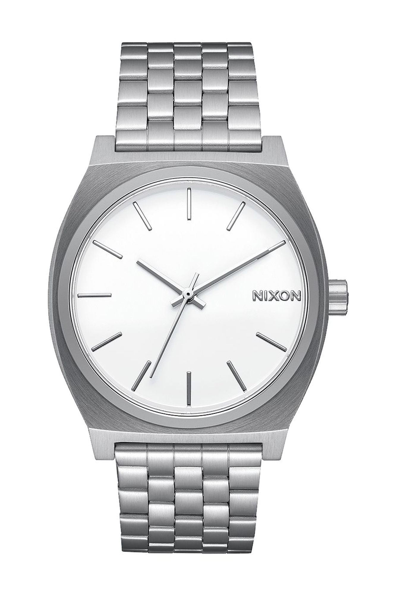 Nixon - Time Teller silver and white Watch