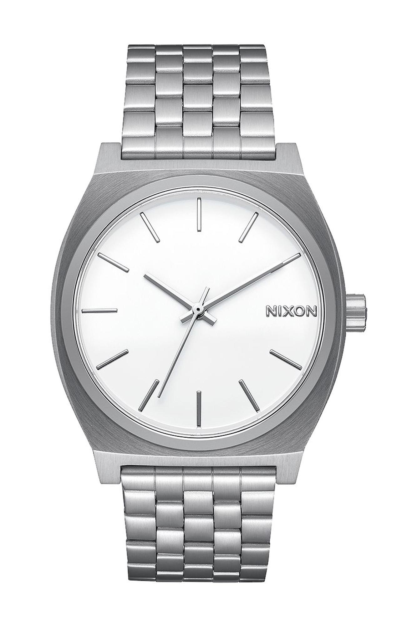 l'atteggiamento migliore 02db0 1d24b Orologio Time Teller argento e bianco