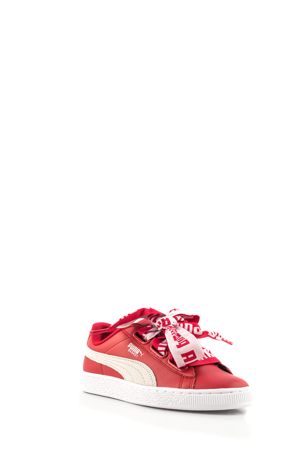 Puma - Basket Heart Red