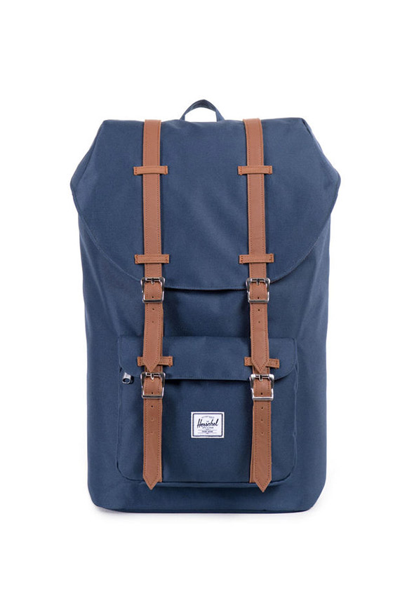 Herschel - Little America Mid-Volume blue backpack