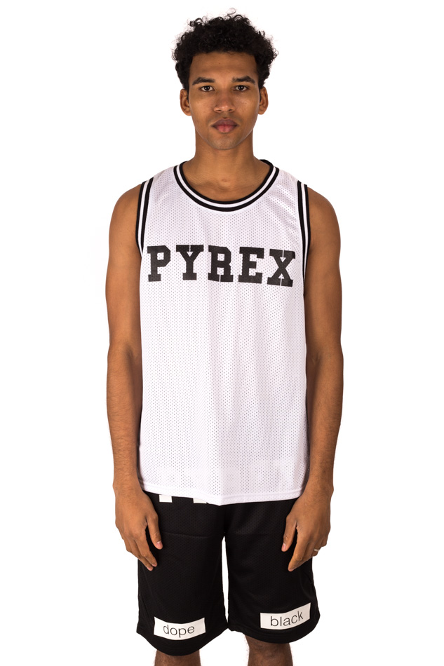 Pyrex - White mesh jacket