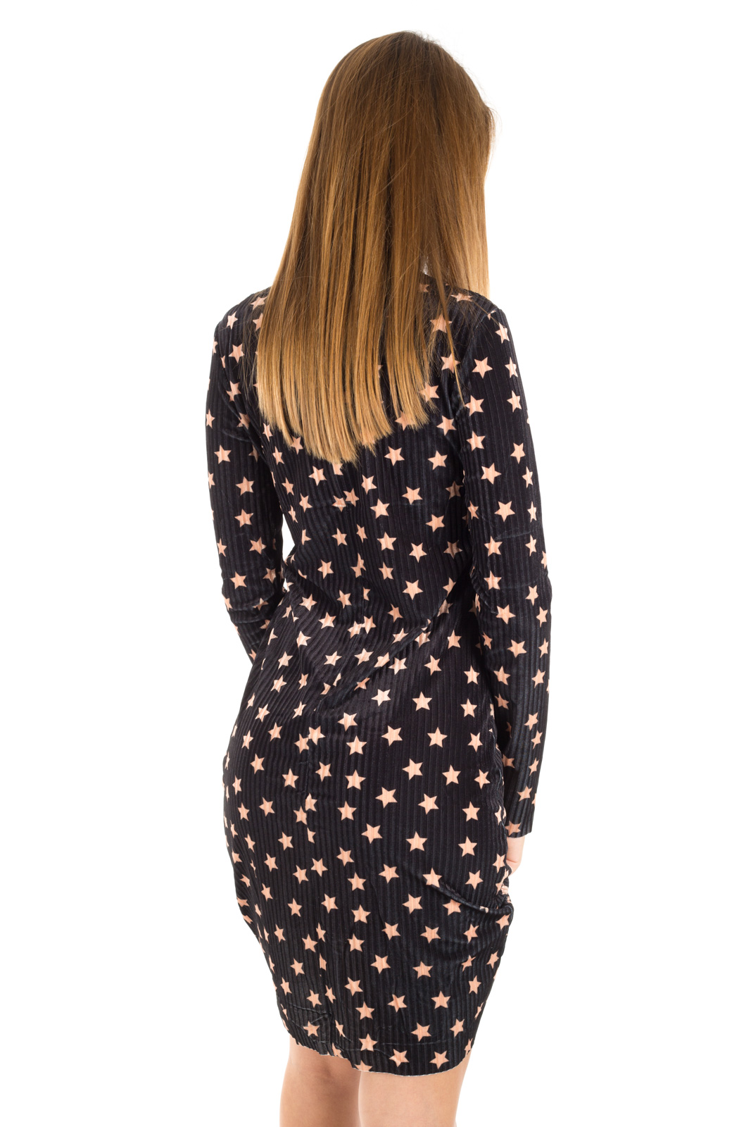 Glamorous - Velvet dress with stars