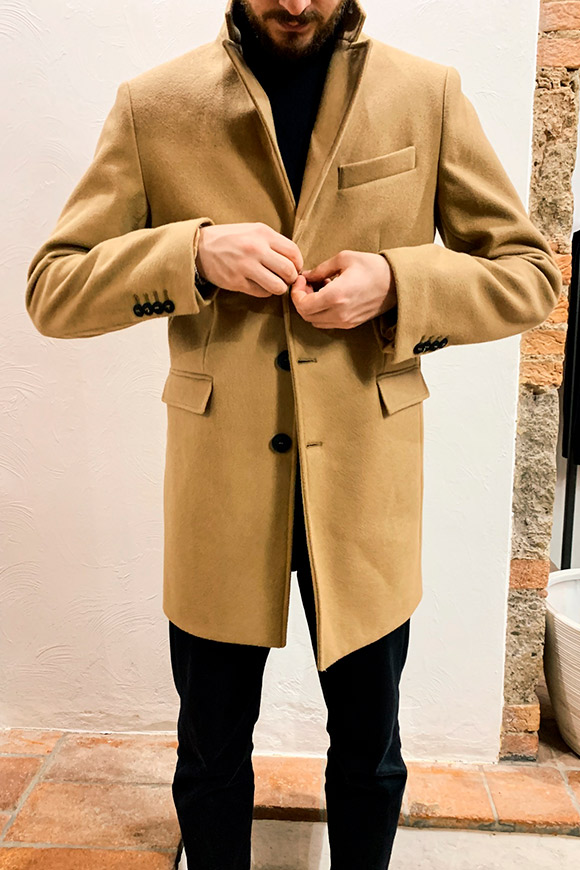 Gianni Lupo - Basic camel coat