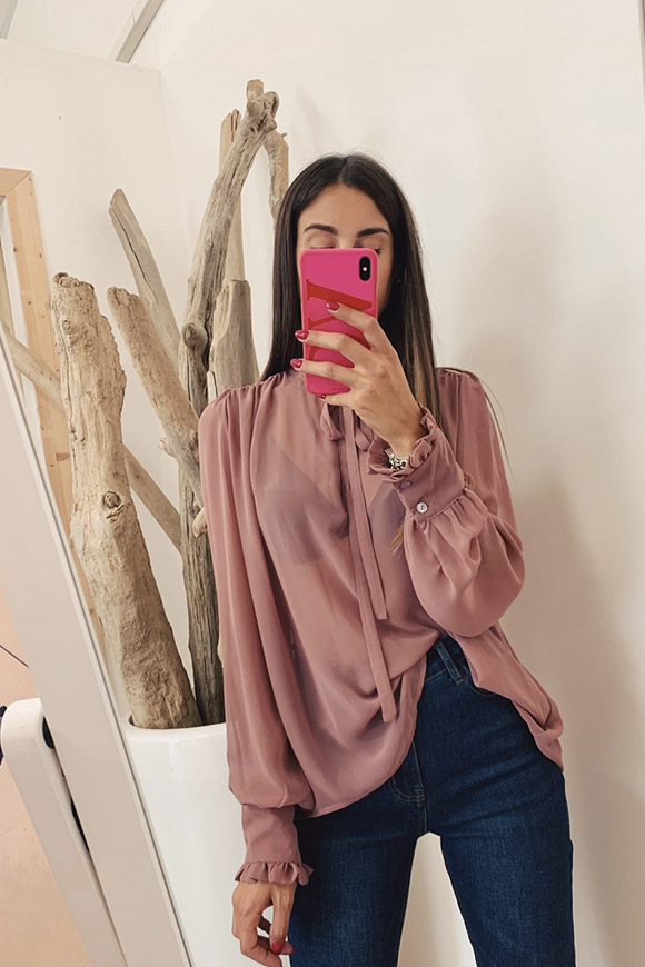 Vicolo - Light antique pink shirt