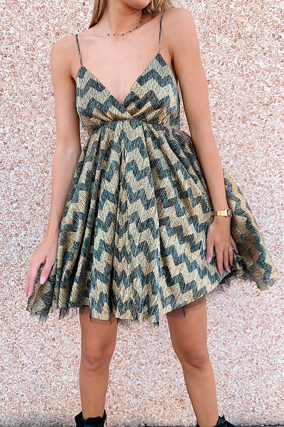 Aniye By - Kurt laminated dress
