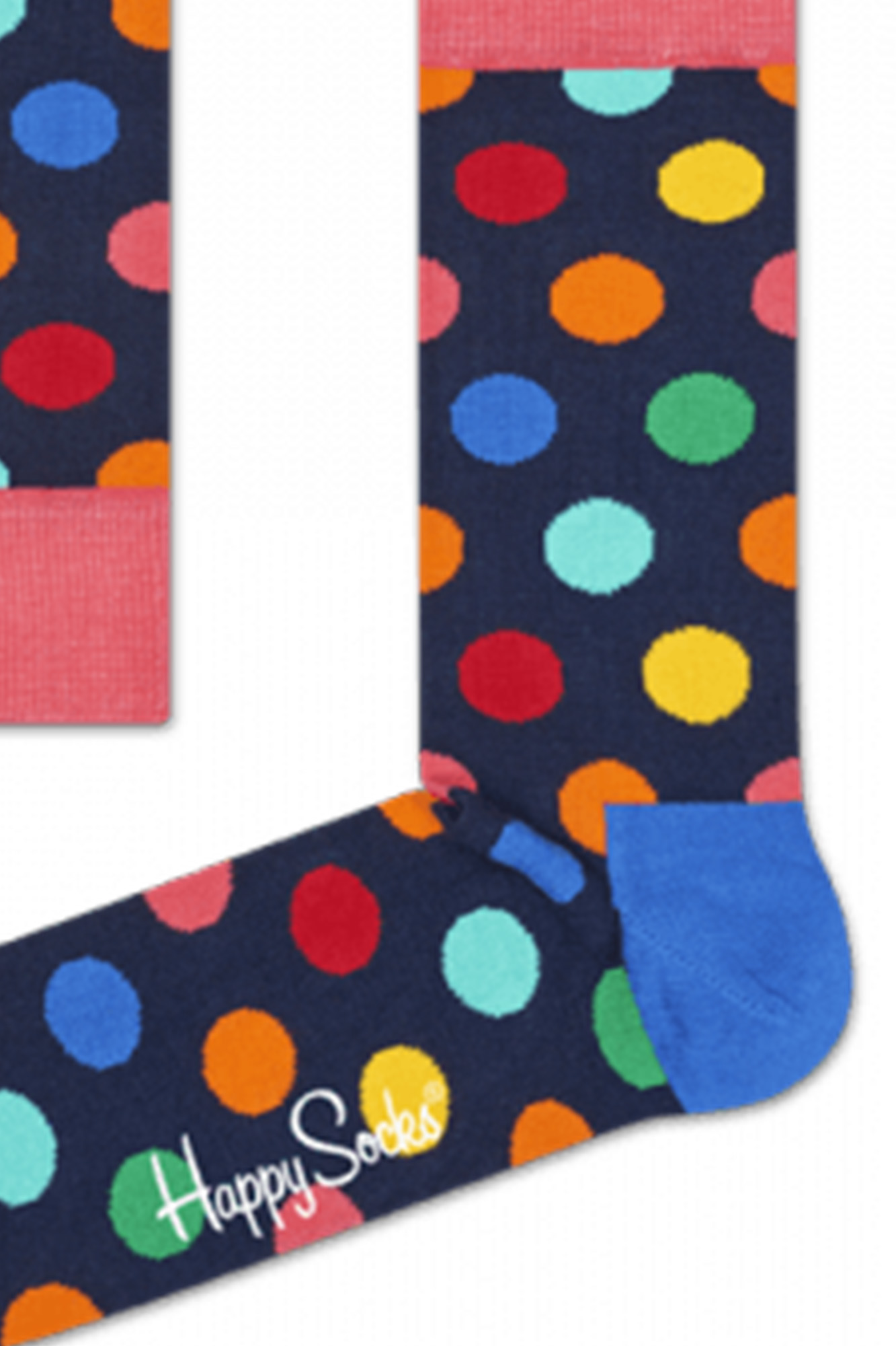 Happy Socks - Calze Big Dot Colorate Unisex
