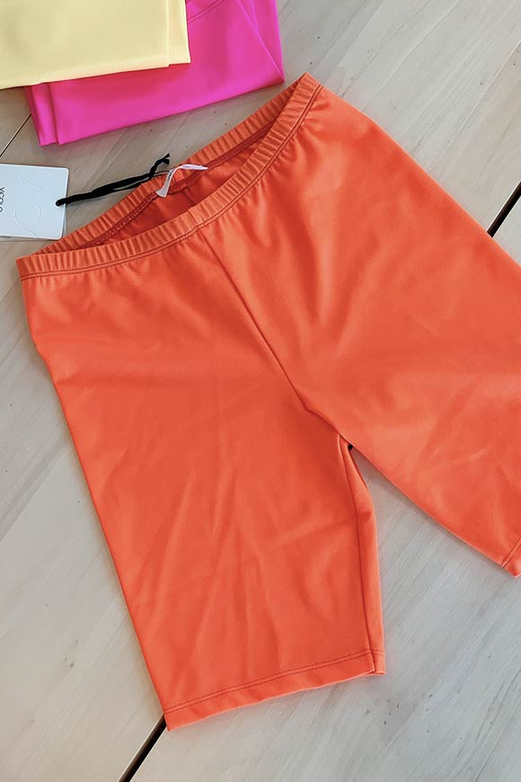Vicolo - Orange cyclist leggings