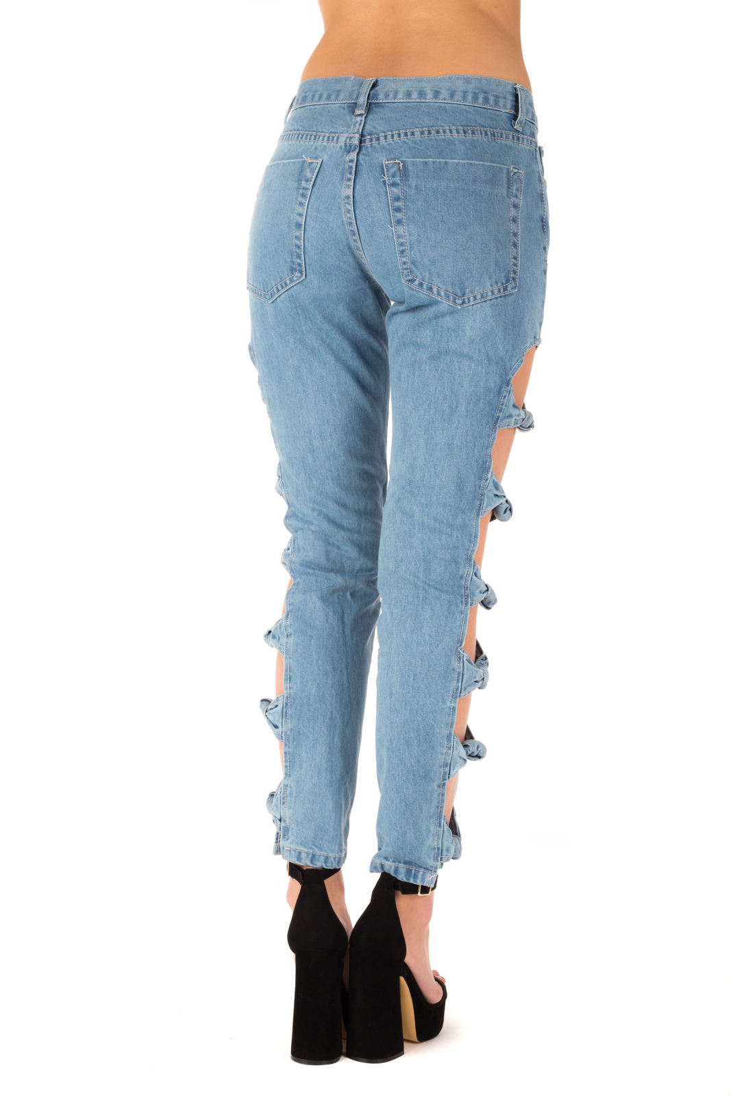 Glamorous - Jeans con cut/out laterale