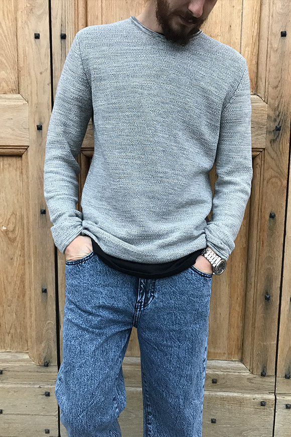Minimum - Gray mélange sweater