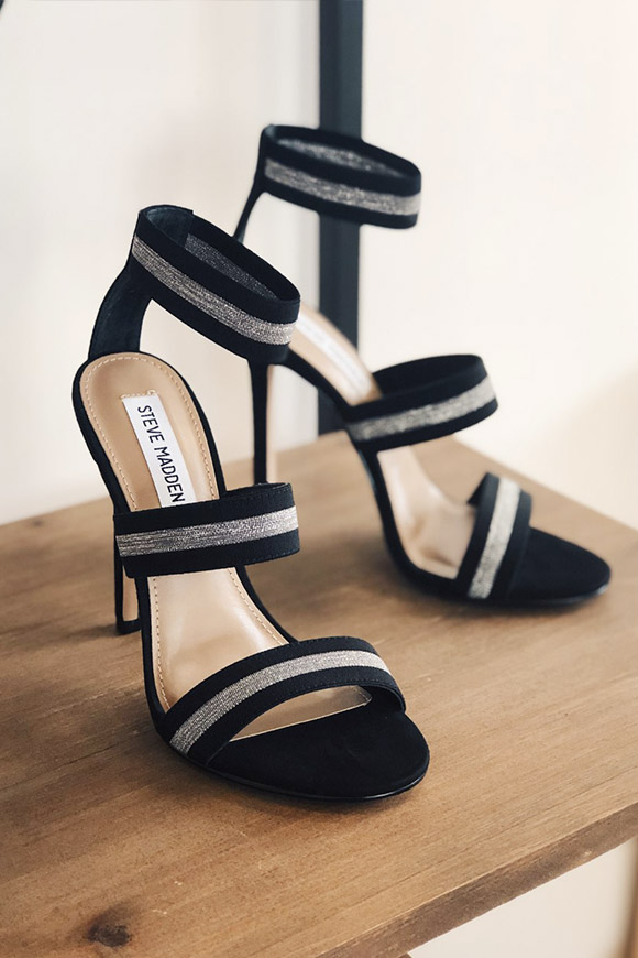 Steve Madden - Crave sandals silver and black