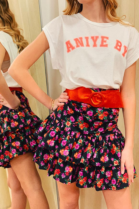 Aniye By - Coral logo t shirt