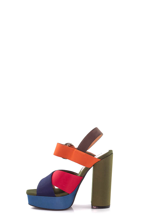 Jeffrey Campbell - Sandali Elvina Satin