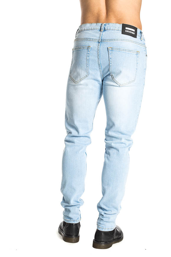Dr. Denim - Clark jeans clear with rips on the knees