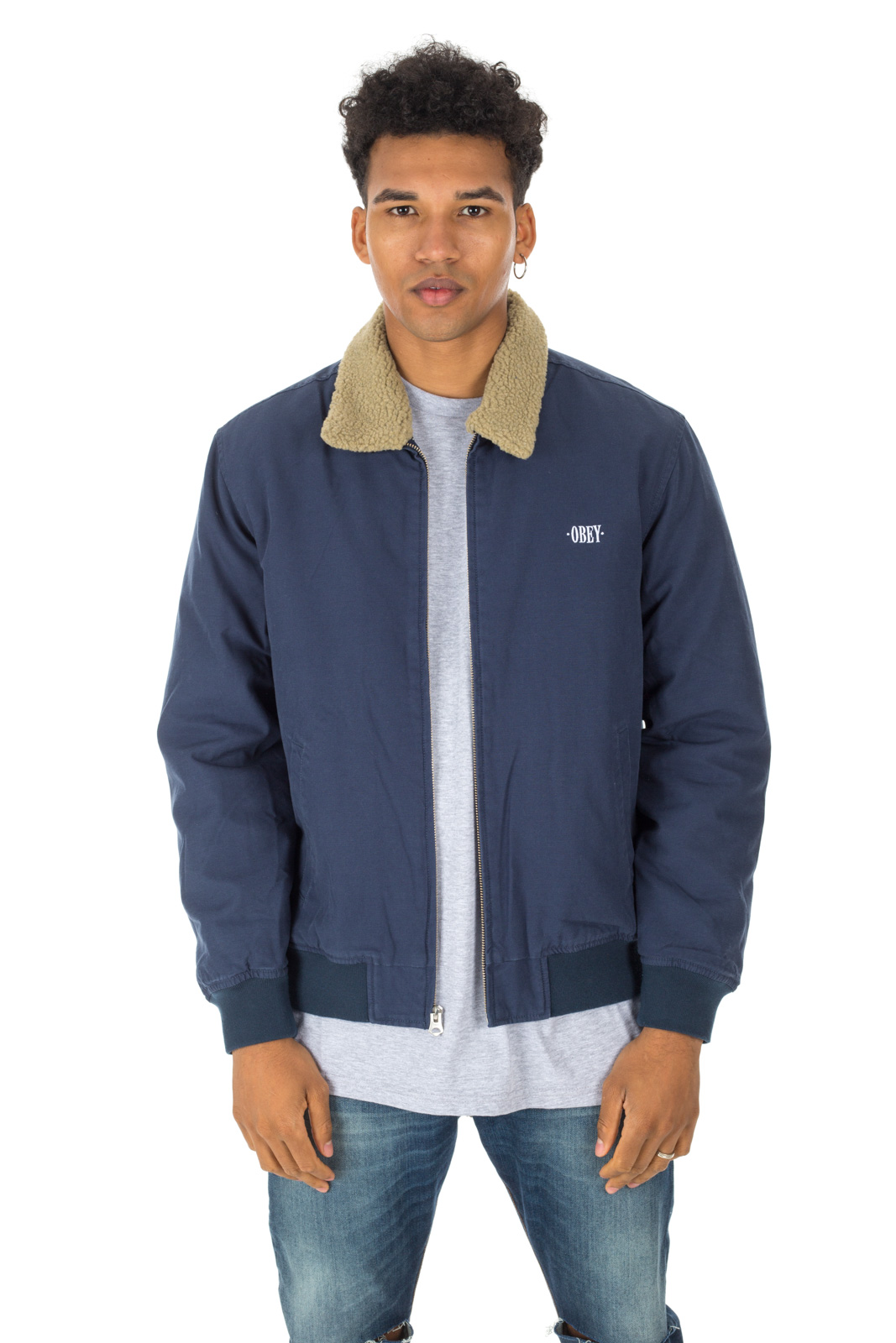 Obey - Blue Clubber Jacket