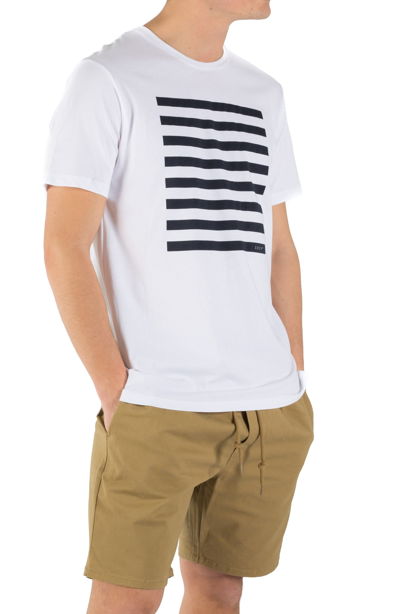 Minimum - T-shirt basic con stampa