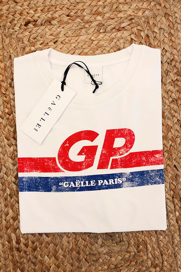 Gaelle - T shirt white GP
