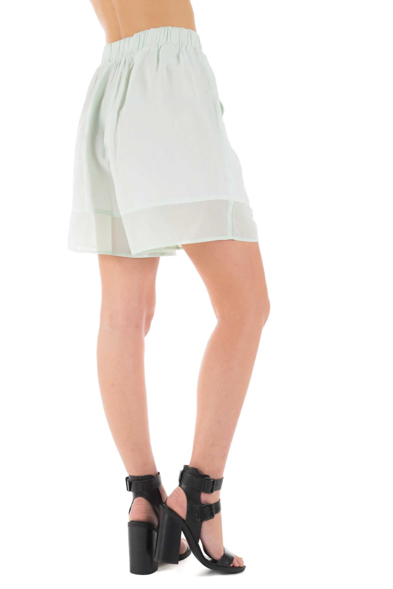 Minimum - Bubble Shorts with Frill