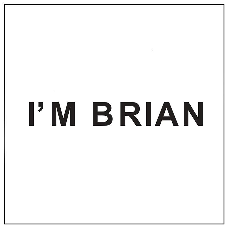 acquista online I'm Brian