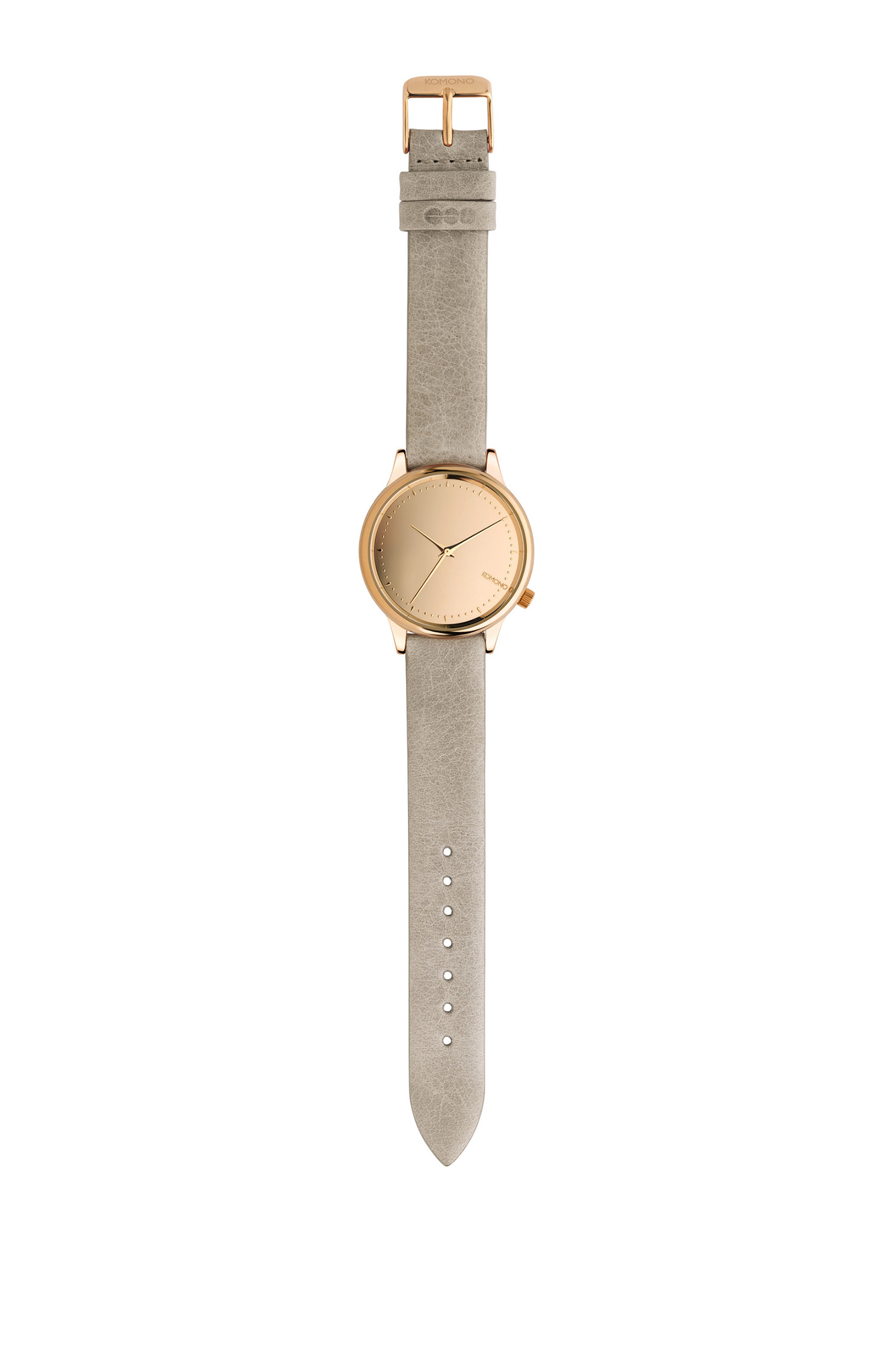 Komono - Orologio Estelle mirror gold grey